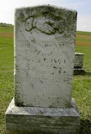 GOODIN, THOMAS ?. - Wayne County, Ohio | THOMAS ?. GOODIN - Ohio Gravestone Photos