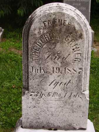 GRINER, FREDERICK - Wayne County, Ohio | FREDERICK GRINER - Ohio Gravestone Photos