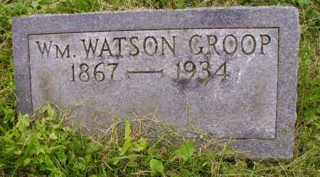 GROOP, WILLIAM WATSON - Wayne County, Ohio | WILLIAM WATSON GROOP - Ohio Gravestone Photos