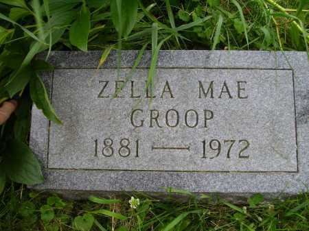 GROOP, ZELLA MAE - Wayne County, Ohio | ZELLA MAE GROOP - Ohio Gravestone Photos