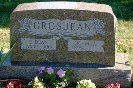 GROSJEAN, E. DEAN - Wayne County, Ohio | E. DEAN GROSJEAN - Ohio Gravestone Photos