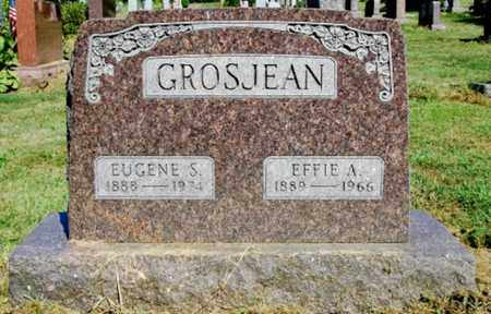 LAWRENCE GROSJEAN, EFFIE A. - Wayne County, Ohio | EFFIE A. LAWRENCE GROSJEAN - Ohio Gravestone Photos