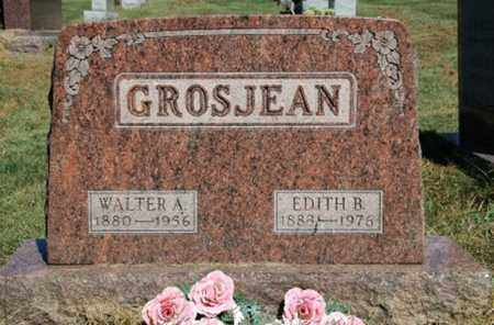 GROSJEAN, EDITH B. - Wayne County, Ohio | EDITH B. GROSJEAN - Ohio Gravestone Photos
