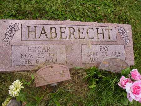 HABERECHT, EDGAR - OVERALL VIEW - Wayne County, Ohio | EDGAR - OVERALL VIEW HABERECHT - Ohio Gravestone Photos