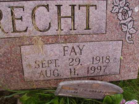 HABERECHT, FAY - Wayne County, Ohio | FAY HABERECHT - Ohio Gravestone Photos