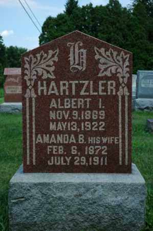 HARTZLER, ALBERT I. - Wayne County, Ohio | ALBERT I. HARTZLER - Ohio Gravestone Photos