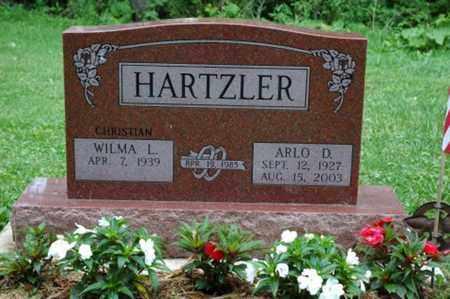 HARTZLER, ARLO D. - Wayne County, Ohio | ARLO D. HARTZLER - Ohio Gravestone Photos