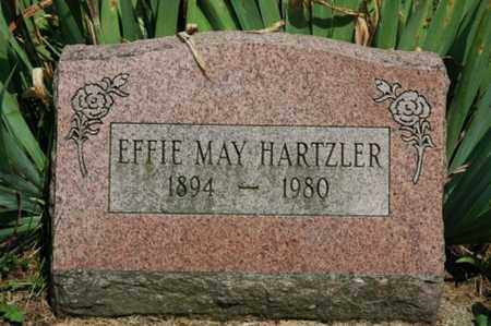 HARTZLER, EFFIE MAY - Wayne County, Ohio | EFFIE MAY HARTZLER - Ohio Gravestone Photos