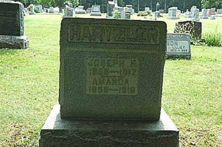 HARTZLER, JOSEPH F. - Wayne County, Ohio | JOSEPH F. HARTZLER - Ohio Gravestone Photos