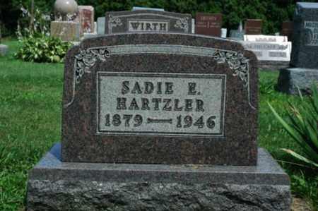 KURTZ HARTZLER, SADIE E. - Wayne County, Ohio | SADIE E. KURTZ HARTZLER - Ohio Gravestone Photos