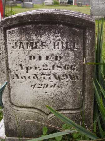 HILL, JAMES - Wayne County, Ohio | JAMES HILL - Ohio Gravestone Photos