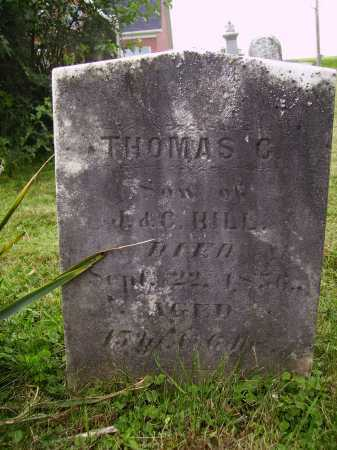 HILL, THOMAS C. - Wayne County, Ohio | THOMAS C. HILL - Ohio Gravestone Photos