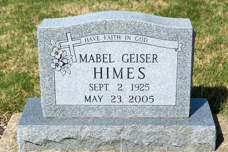 HIMES, MABEL - Wayne County, Ohio | MABEL HIMES - Ohio Gravestone Photos