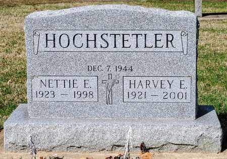 HOCHSTETLER, NETTIE E - Wayne County, Ohio | NETTIE E HOCHSTETLER - Ohio Gravestone Photos