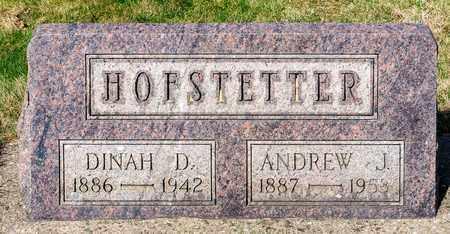 HOFSTETTER, DINAH D - Wayne County, Ohio | DINAH D HOFSTETTER - Ohio Gravestone Photos