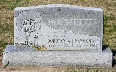 HOFSTETTER, DOROTHY A - Wayne County, Ohio | DOROTHY A HOFSTETTER - Ohio Gravestone Photos