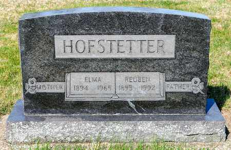 HOFSTETTER, REUBEN - Wayne County, Ohio | REUBEN HOFSTETTER - Ohio Gravestone Photos