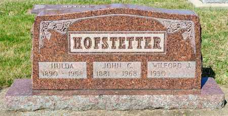 HOFSTETTER, JOHN C - Wayne County, Ohio | JOHN C HOFSTETTER - Ohio Gravestone Photos