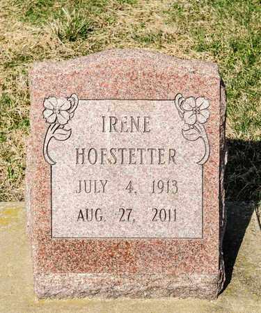 HOFSTETTER, IRENE - Wayne County, Ohio | IRENE HOFSTETTER - Ohio Gravestone Photos