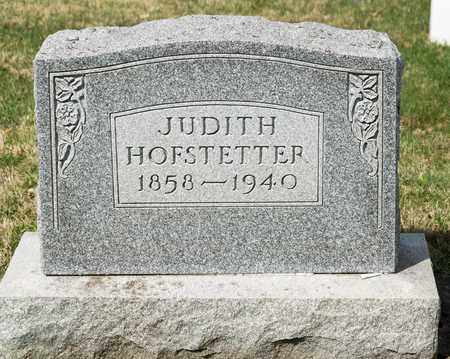 HOFSTETTER, JUDITH - Wayne County, Ohio | JUDITH HOFSTETTER - Ohio Gravestone Photos
