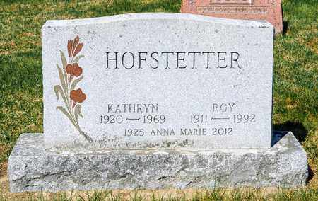 HOFSTETTER, ROY - Wayne County, Ohio | ROY HOFSTETTER - Ohio Gravestone Photos