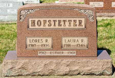 HOFSTETTER, LAURA R - Wayne County, Ohio | LAURA R HOFSTETTER - Ohio Gravestone Photos