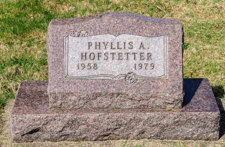 HOFSTETTER, PHYLLIS A - Wayne County, Ohio | PHYLLIS A HOFSTETTER - Ohio Gravestone Photos