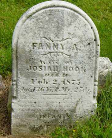 HOOK, FANNY A. - Wayne County, Ohio | FANNY A. HOOK - Ohio Gravestone Photos
