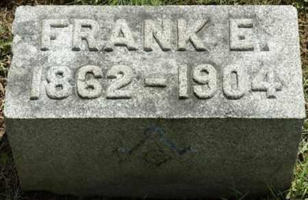 HORBACH, FRANK E. - Wayne County, Ohio | FRANK E. HORBACH - Ohio Gravestone Photos