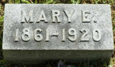 GALLOWAY HORBACH, MARY E. - Wayne County, Ohio | MARY E. GALLOWAY HORBACH - Ohio Gravestone Photos