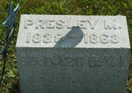 HORBACH, PRESLEY M. - Wayne County, Ohio | PRESLEY M. HORBACH - Ohio Gravestone Photos