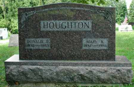 HOUGHTON, DONALD D. - Wayne County, Ohio | DONALD D. HOUGHTON - Ohio Gravestone Photos
