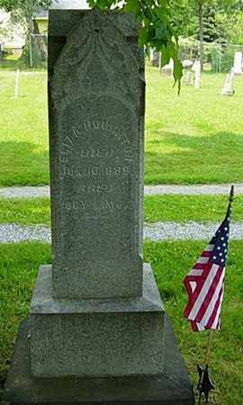 TYLER HOUGHTON, ELIZA - Wayne County, Ohio | ELIZA TYLER HOUGHTON - Ohio Gravestone Photos