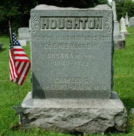 HOUGHTON, SUSANA - Wayne County, Ohio | SUSANA HOUGHTON - Ohio Gravestone Photos