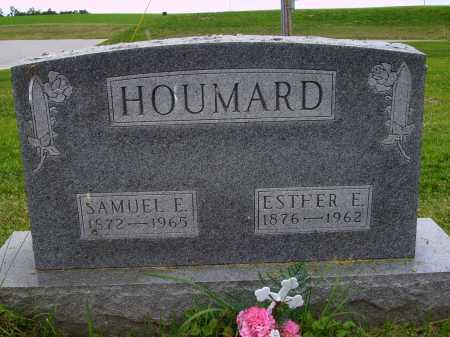 HOUMARD, ESTHER E. - Wayne County, Ohio | ESTHER E. HOUMARD - Ohio Gravestone Photos
