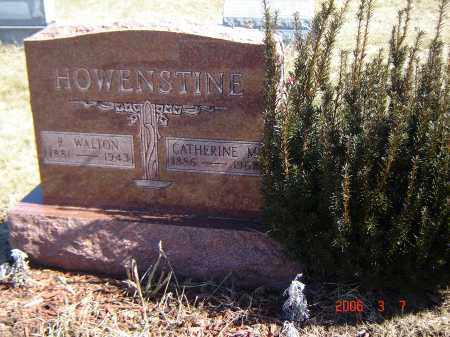 HOWENSTINE, CATHERINE - Wayne County, Ohio | CATHERINE HOWENSTINE - Ohio Gravestone Photos