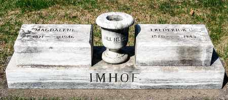 IMHOF, FREDERICK C - Wayne County, Ohio | FREDERICK C IMHOF - Ohio Gravestone Photos