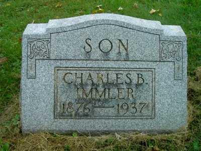 IMMLER, CHARLES B. - Wayne County, Ohio | CHARLES B. IMMLER - Ohio Gravestone Photos