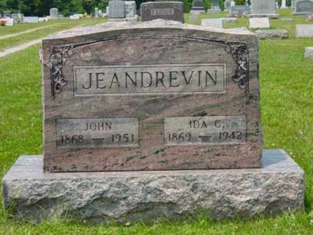 JEANDREVIN, JOHN - Wayne County, Ohio | JOHN JEANDREVIN - Ohio Gravestone Photos