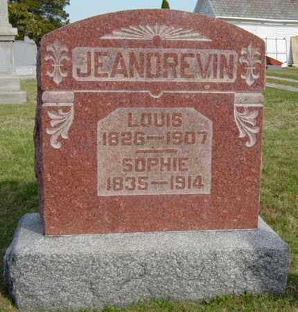 JEANDREVIN, LOUIS - Wayne County, Ohio | LOUIS JEANDREVIN - Ohio Gravestone Photos