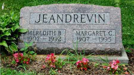 JEANDREVIN, MEREDITH B. - Wayne County, Ohio | MEREDITH B. JEANDREVIN - Ohio Gravestone Photos
