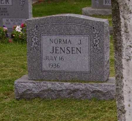 JENSEN, NORMA J. - Wayne County, Ohio | NORMA J. JENSEN - Ohio Gravestone Photos