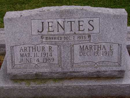 JENTES, MARTHA E. - Wayne County, Ohio | MARTHA E. JENTES - Ohio Gravestone Photos