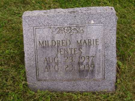 JENTES, MILDRED MARIE - Wayne County, Ohio | MILDRED MARIE JENTES - Ohio Gravestone Photos