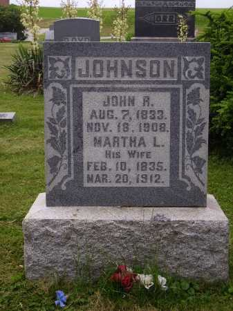 JOHNSON, MARTHA L. - Wayne County, Ohio | MARTHA L. JOHNSON - Ohio Gravestone Photos