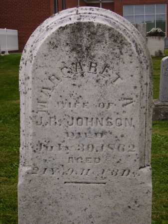 JOHNSON, MARGARET A. - Wayne County, Ohio | MARGARET A. JOHNSON - Ohio Gravestone Photos