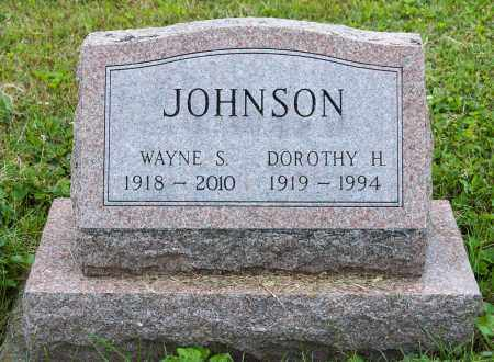 JOHNSON, WAYNE S. - Wayne County, Ohio | WAYNE S. JOHNSON - Ohio Gravestone Photos