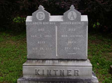 BLOCHER KINTNER, ELIZABETH - OVERALL VIEW - Wayne County, Ohio | ELIZABETH - OVERALL VIEW BLOCHER KINTNER - Ohio Gravestone Photos
