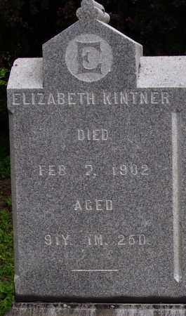KINTNER, ELIZABETH - CLOSEVIEW - Wayne County, Ohio | ELIZABETH - CLOSEVIEW KINTNER - Ohio Gravestone Photos
