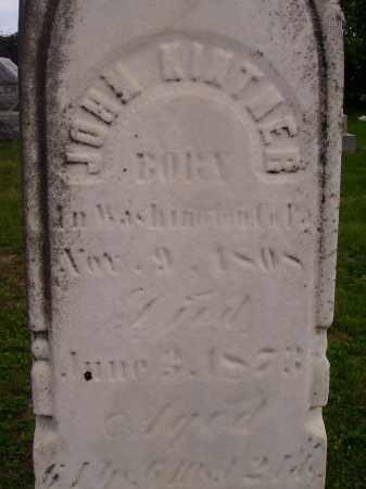 KINTNER, JOHN - Wayne County, Ohio | JOHN KINTNER - Ohio Gravestone Photos